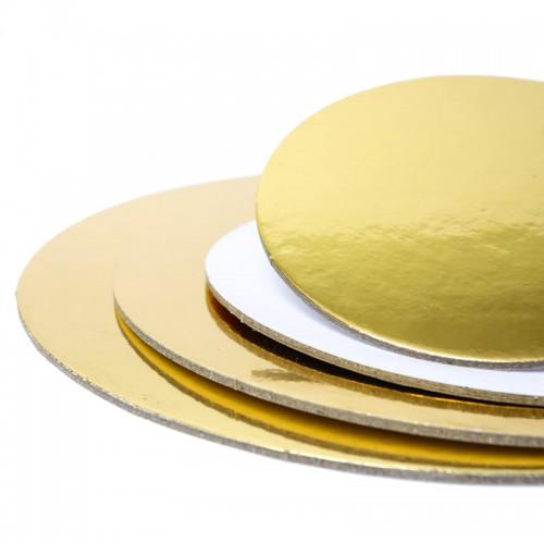 Cake Card Setup Boards STD Gold