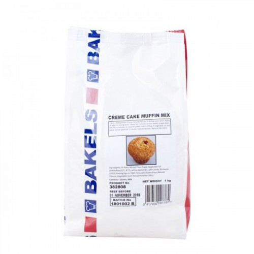 Cake Mix Bakels Cream Cake Muffin 1kg