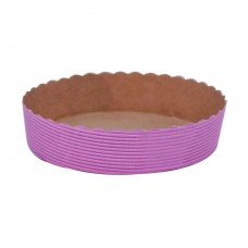 Disposable Baking Pan Large Round Baking Mould Mold Pink 10pk