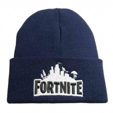 Blue Uni-sex Stylish Winter Fortnite Gaming Beanie