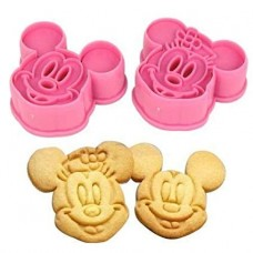 Cutter Plunger Punch Mickey and Minnie Mouse