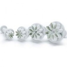 Cutter Plunger Punch Daisy set of 4