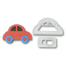 Cutter Cookie Fondant Car Vehicle