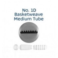 Piping Tip Tube Loyal Basketweave Medium No. 1D