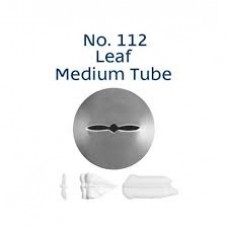 Piping Tip Tube Loyal Leaf Medium No. 112