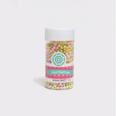 Sprinkles Cachous Pastel Sugar Pearls Mixed 4mm by Sugar Crafty 85g