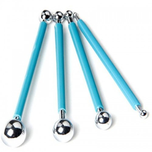 Balling Tool Metal Loyal set 4 Blue