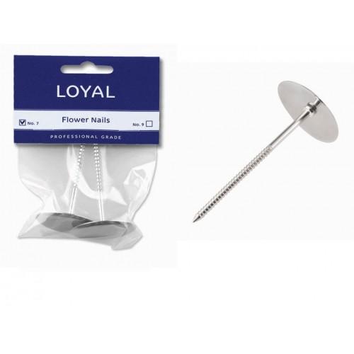Flower Nail Loyal 2pk