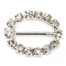 Buckles Diamante Round Small