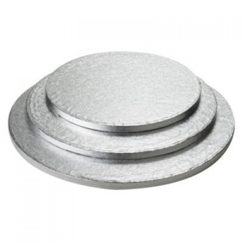 Cake Boards Round Silver
